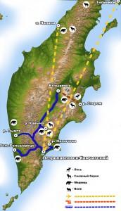 hunting-map-rus